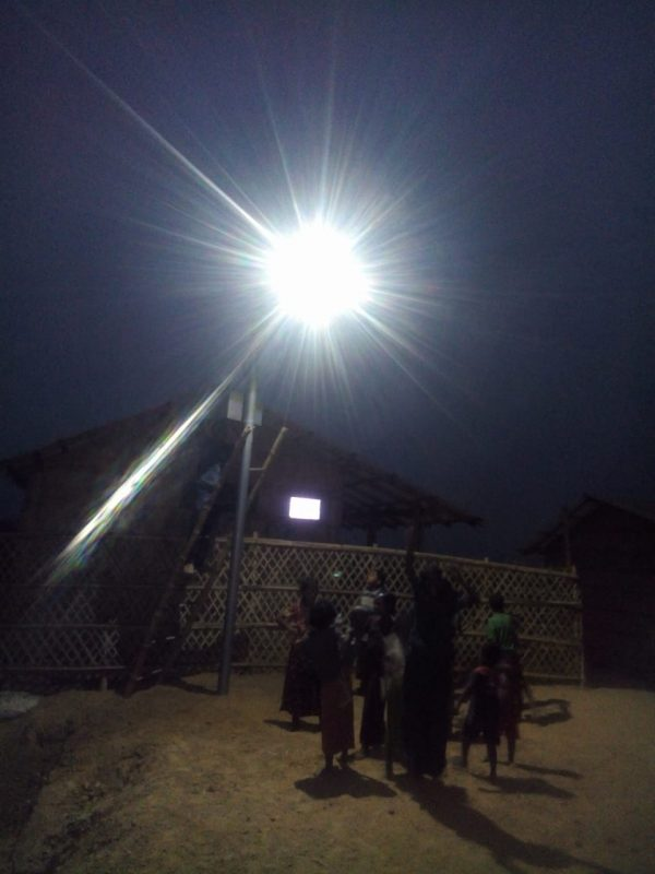 Solar street Light in Bangladesh