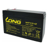 9Ah Long SMF Battery