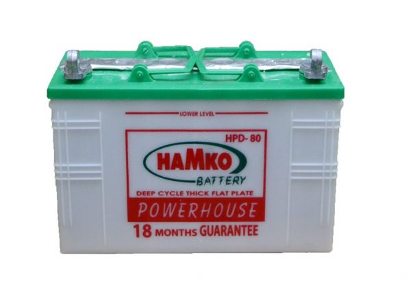 80Ah Hamko IPS Battery